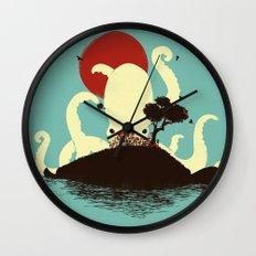 Octopus's Garden Wall Clock
