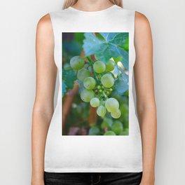 Sprig of Grapes Biker Tank
