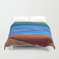 dune Duvet Covers featuring Sand Dune by Kristin Rodgers
