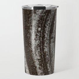 Symphony on ice - Macro image of ice Travel Mug