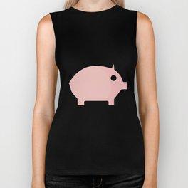 Pig Cute Gift Idea Biker Tank