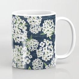 Alyssum - Navy & White Coffee Mug