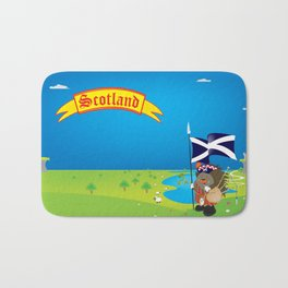 Greetings from Scotland Bath Mat