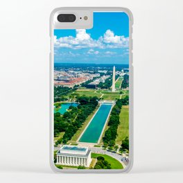 DC from Above Clear iPhone Case