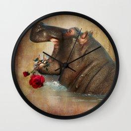 Feeling Strong Wall Clock