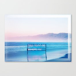 This Must Be My Dream Pastel Paradise Beach Vibe Canvas Print