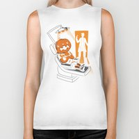 dentist Biker Tanks featuring Are You Afraid of the Dentist? by Marco Angeles