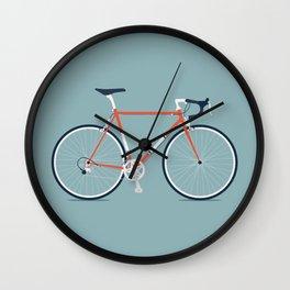 My Bike Red Wall Clock