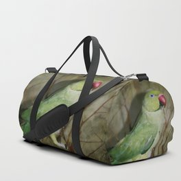 Indian Ringneck Parrot - Cherokee Duffle Bag