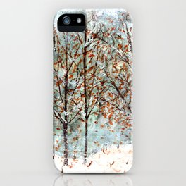 Snow Storm up Dewdrop Holler iPhone Case