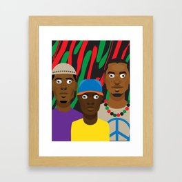 ATCQ Framed Art Print
