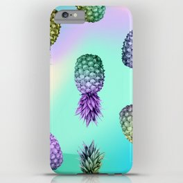 Pineapple Glow iPhone Case