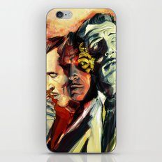The Many Faces of Vincent Price iPhone Skin