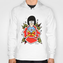 Tina Belcher Tattoo Flash Hoody