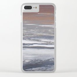 Alkali Lake Clear iPhone Case
