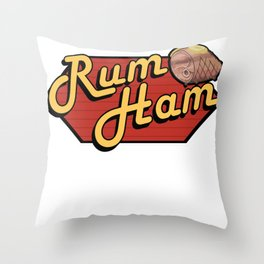 It's Always Sunny  Rum Ham Throw Pillow