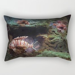 Everything's Fine on the Lion Fishway Rectangular Pillow