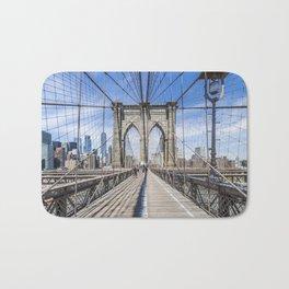 NEW YORK CITY Brooklyn Bridge Bath Mat
