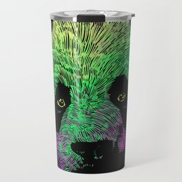 Awesome Colored Panda Travel Mug