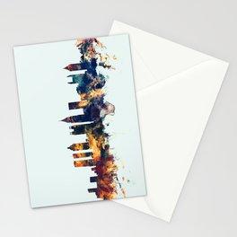 Atlanta Georgia Skyline Stationery Cards