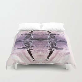 Angel of the Waters NYC Duvet Cover