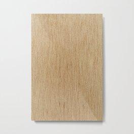 Wooden furniture pattern texture Metal Print