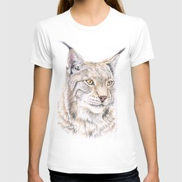 Lynx - Colored Pencil T-shirt