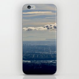 Silver Linings over Vancouver iPhone Skin