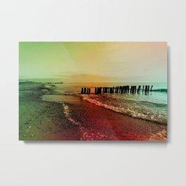 Colorful baltic sea Metal Print