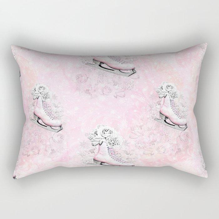 Figure Skating #8 Rectangular Pillow