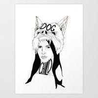 dogchild Art Print