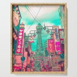 Osaka Tower Serving Tray