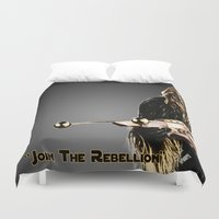 chewbacca Duvet Covers featuring Chewbacca by KL Design Solutions