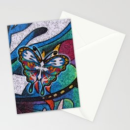 Christianity Themed Butterfly Art Stationery Cards