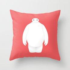 Big Hero 6 - minimal poster Throw Pillow