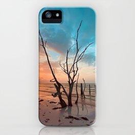 Holbox sunset iPhone Case