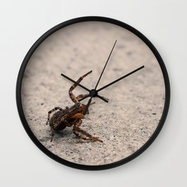 I Stand in Defiance of You Wall Clock