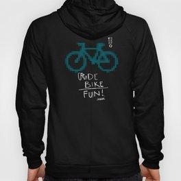 ride bike fun Hoody