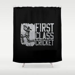First Class Cricket Player Sports Team Sport Shower Curtain