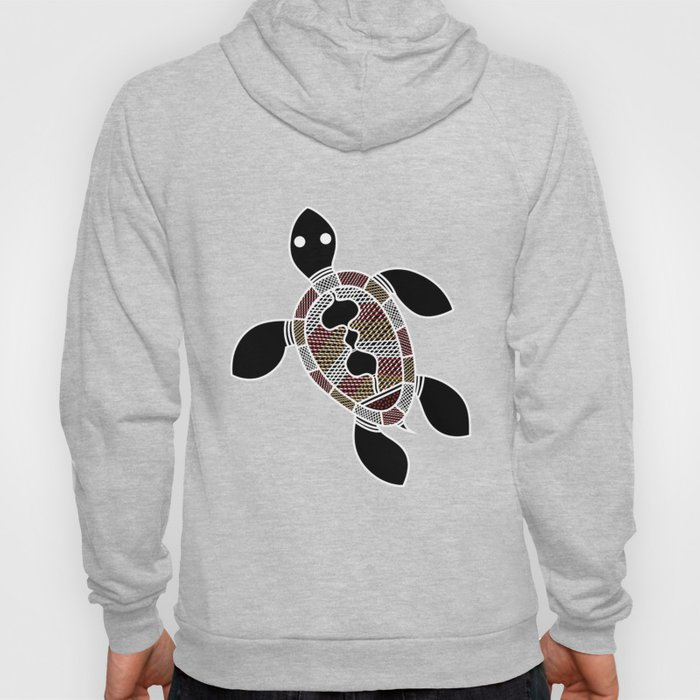 Turtle - Aboriginal Art Hoody