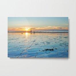 Sunset on the Horizon II Metal Print