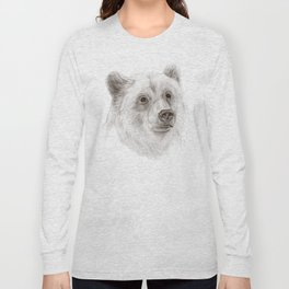 Grizzly :: A North American Brown Bear Long Sleeve T-shirt