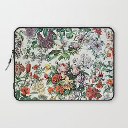 Adolphe Millot - Fleurs C - French vintage poster Laptop Sleeve
