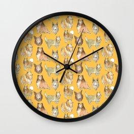 Collie Wall Clock