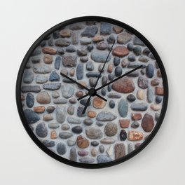 Pebble Wall Wall Clock