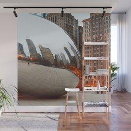 Chicago Bean - Big City Lights Wall Mural