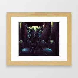 GODDESS OF WISDOM Framed Art Print