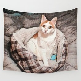 Herecules the Cat Wall Tapestry