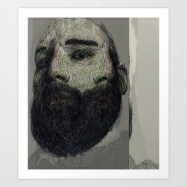 Self Portrait at 33 Art Print