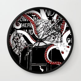 World's End Wall Clock